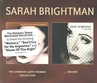 ANDREW LLOYD WEBBER COLLECTION/ENCORE BY BRIGHTMAN,SARAH (CD)